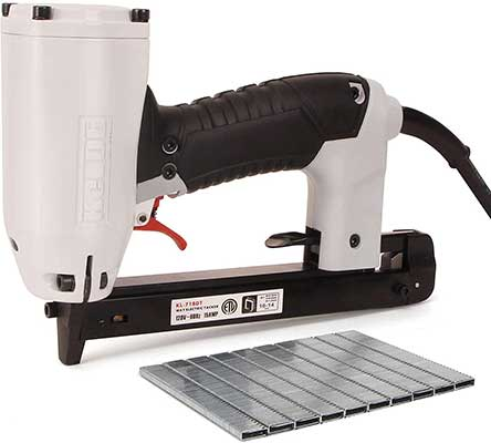 KeLDE UL Electric Staple Gun Kit for Carpet and Upholstery