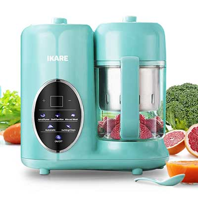 IKARE 8 in 1 Self Cleaning Baby Food Processor