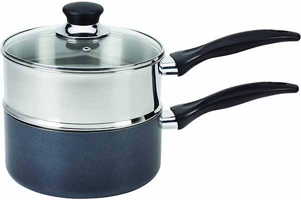 T-Fal Stainless Steel Double Boiler with Phenolic Handle