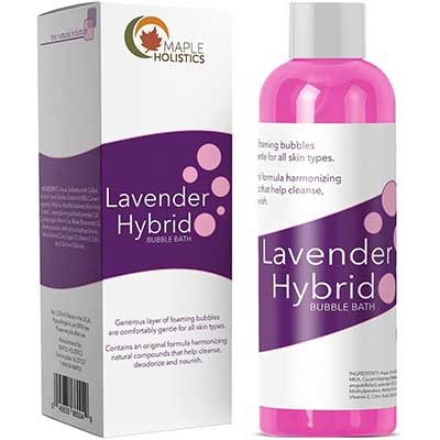Relaxing Bubble Bath for Sleep – Pure Lavender Essential Oil