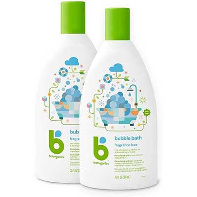 Babyganics Bubble Bath, Fragrance-Free