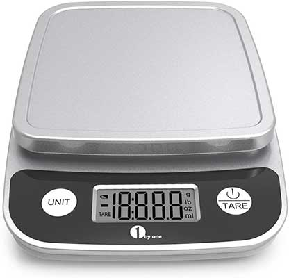 1bygone Digital Kitchen Scale Precise Cooking Scale