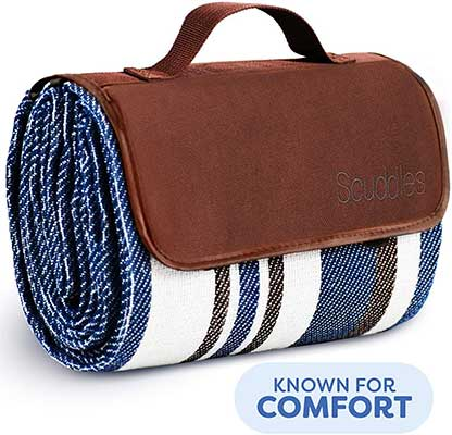 Scuddles Dual Layers Water-Resistant Outdoor Handy Mat