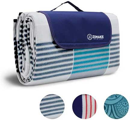 ZOMAKE Picnic Waterproof Blanket Mat
