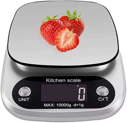 OFFICESU Digital Kitchen Scale Multifunction Food Scale