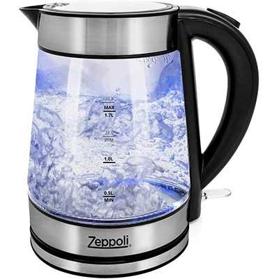 Zeppoli Electric Kettle – Glass Tea Kettle