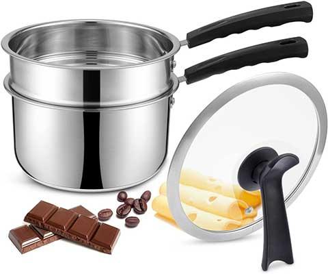 JKsmart Double Boilers & Classic Stainless Steel Saucepan