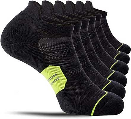 CelerSport Running Ankle Socks for Men