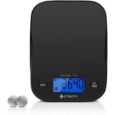 Etekcity Food Kitchen Scale, Digital Weight Grams