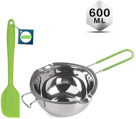 Sysmie Double Boiler with Silicone Spatula