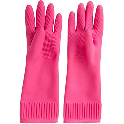Mamison Reusable Waterproof Household Dishwashing Gloves