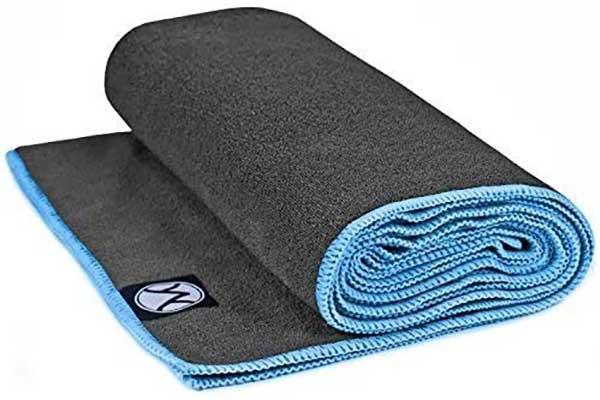 YouPhoria Yoga Towels 24 by 72 – Microfiber Non-Slip Yoga Mat Towel