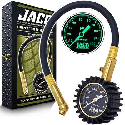 JACO ElitePro Tire Pressure Gauge – 100 PSI