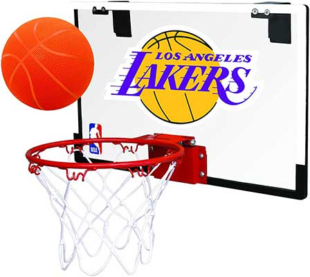 Rawlings NBA Game on Polycarbonate Mini Basketball Hoop