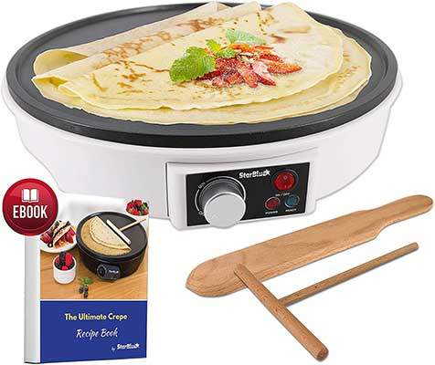"12"" Electrical Crepe Maker by StarBlue"