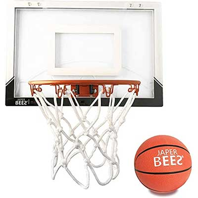 JAPER BEES Pro Mini Basketball Hoop Over