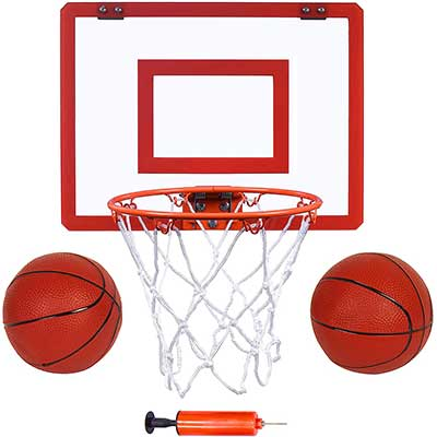 Indoor Mini Basketball Hoop and Balls