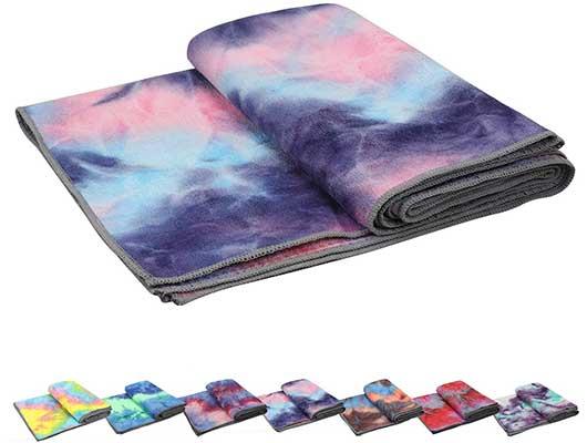 Pefi Yoga Towels, Non-slip Hot Yoga Towel Skid-less