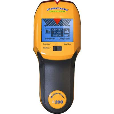 Zircon Stud Finder A200 Pro 3 in 1 MultiScanner Detector