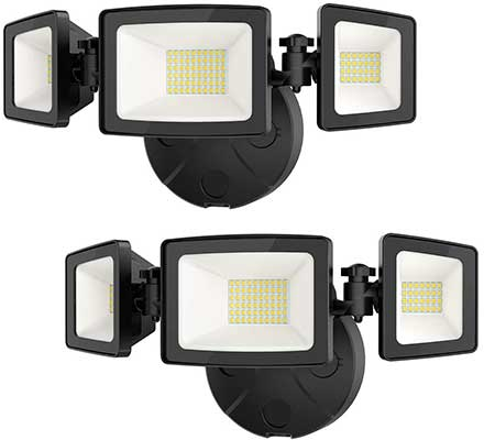 Onforu 50W LED 5000LM Super Bright Outdoor Flood Light