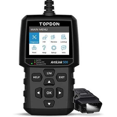 OBD2 Scanner TOPDON AL500 Code Reader