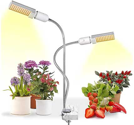 LED Grow Light for Indoor Plants, Relassy