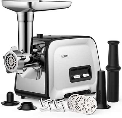 Electric Meat Grinder, ALTRA 3-IN-1 Meat Mincer & Food Grinder