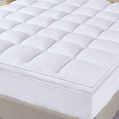 Extra Thick Mattress Topper For Full-Size Bed