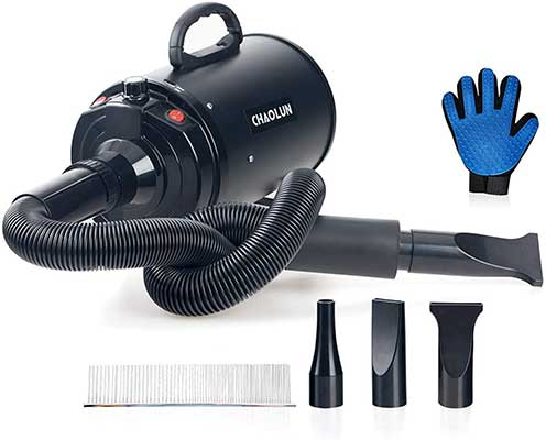 CHAOLUN Velocity Professional Pet Dog Blow Dryer 3.2HP