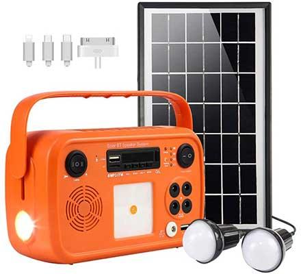 Portable Solar Generator with Solar Panel