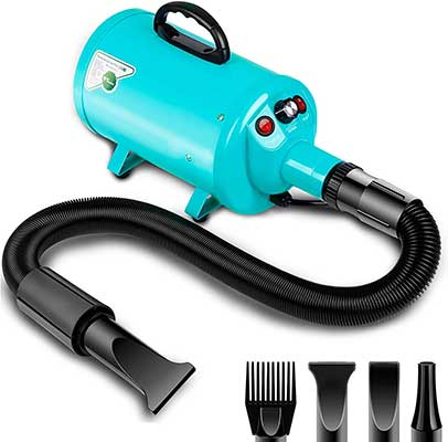 Amzdeal Dog Dryer 2800W/3.8HP Pet Grooming Blower