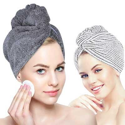 Organic Bamboo Hair Towel