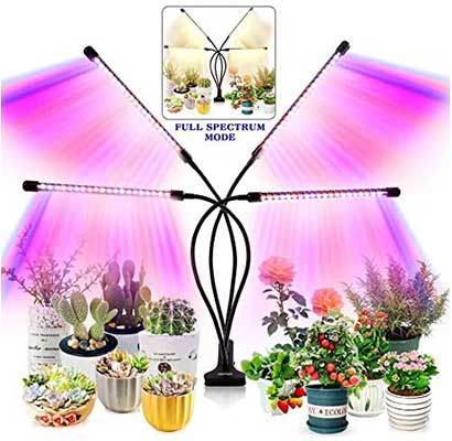 Grow Light for Indoor Plants - Upgraded Version 80 LEDs Lamp