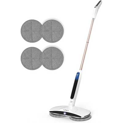 GOBOT Cordless ElectricMop Floor Scrubber for Home-Kitchen
