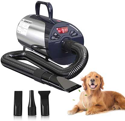 Petnf Hair Professional Dryers for Dogs with Led Screen