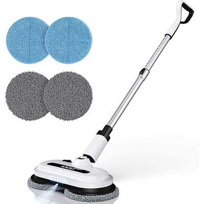 Cordless Electric Spin Mop, Spray Mop