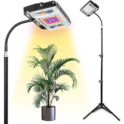 Grow Light with Stand, LBW Full Spectrum