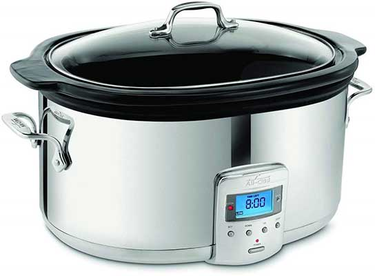 All-Clad SD700450 Oval Programmable Slow Cooker