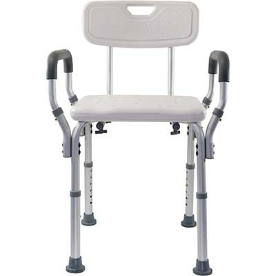 Essential Medical Supply Shower & Bath Bench with Arms