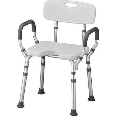 NOVA Hygienic Shower & Bath Chair with Back & Arms