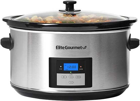 Elite Gourmet Programmable Slow Cooker