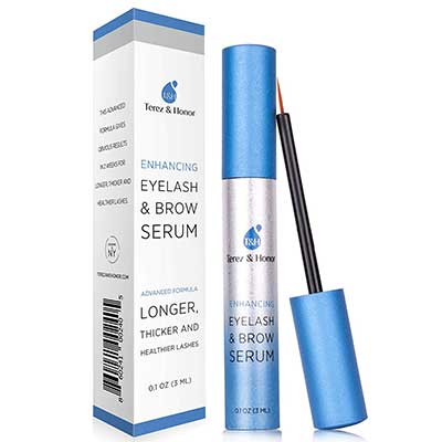 Natural Eyelash Growth Serum and Brow Enhancer