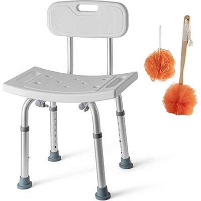 Medical King Tool-Free Shower Chair for Elderly