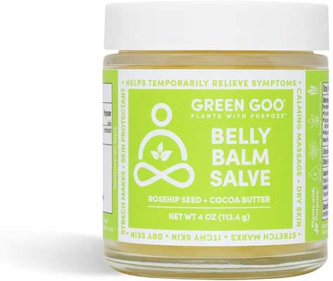 Green Goo Natural Stretch Mark Cream
