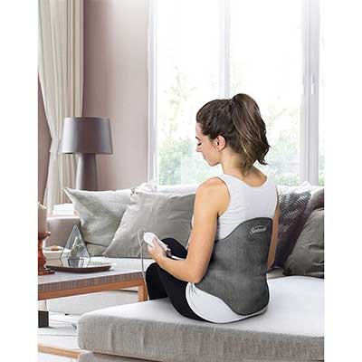 Sunbeam Heating Pad with Adjustable Strap