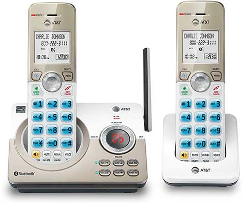 AT&T DL72219 DECT 6.0 2-Handset Cordless Phone