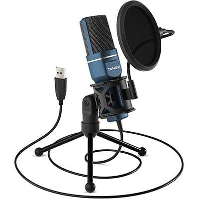 USB Microphone, TONOR Computer Condenser