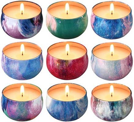 Scented Candles Gift  Natural Soy Wax Candles
