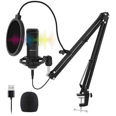 USB Streaming Microphone Kit, Stilnend Professional