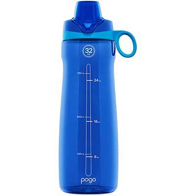 Pogo BPA-free Plastic Water Bottle
